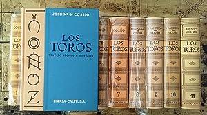 Los toros: tratado técnico e histórico. Obra: COSSÍO, José María