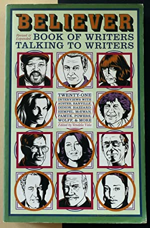 The Believers book of writers talking to writers.