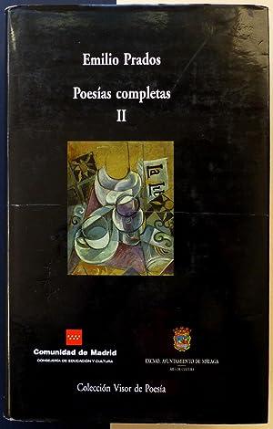 Poesías completas II.: PRADOS, Emilio