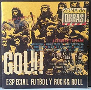 Zona de obras. Especial nº1, Fútbol y Rock and roll. 1995 (no contiene CD)