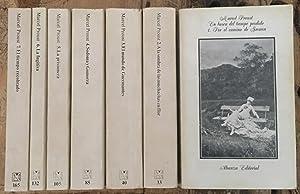 En busca del Tiempo Perdido. 7 volúmenes.: PROUST, Marcel