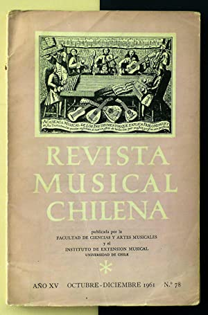 Revista Musical Chilena. Nº 78