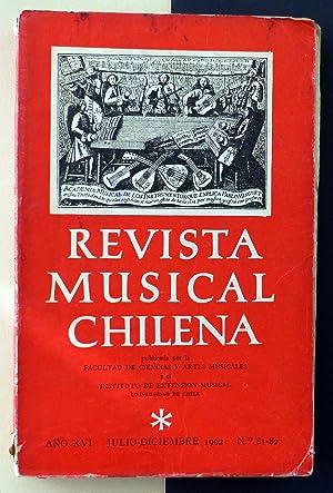Revista Musical Chilena. Nº 81-82