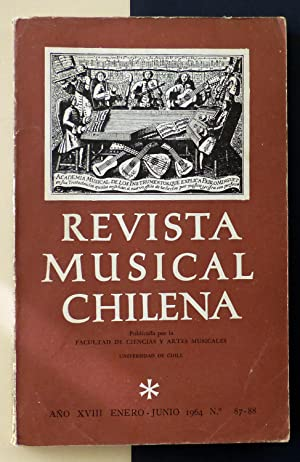 Revista Musical Chilena. Nº 87-88