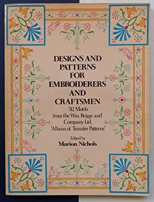 Designs and patterns for embroiderers and craftsmen.