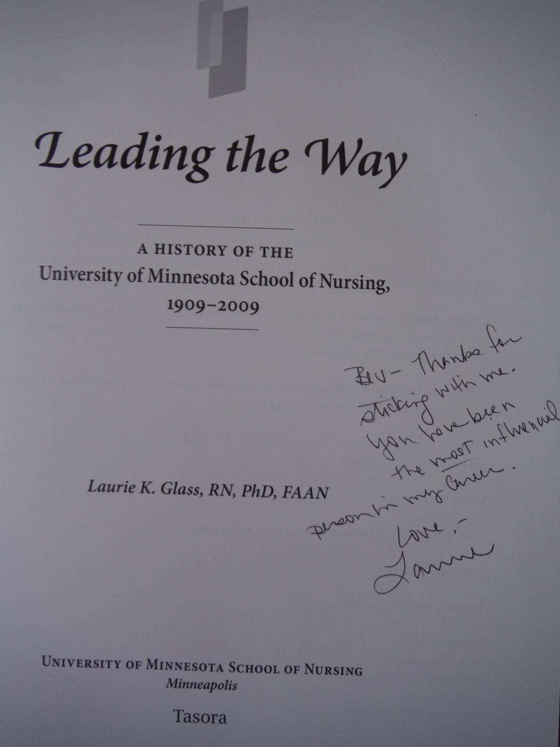 Leading the Way - The University of