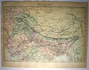 Johnson's Map of Northern India - Original: A. J. Johnson