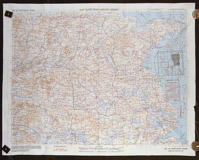 Aaf cloth map asiatic series no 34 southeast china no 35 aaf cloth map asiatic series no 34 southeast china no gumiabroncs Choice Image