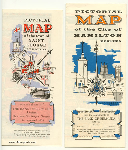 Pictorial Map of the City of Hamilton ...