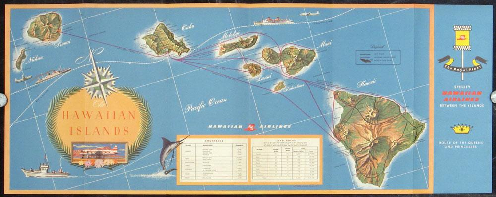 Route map hawaiian airlines see all hawaii map title the hawaiian route map hawaiian airlines see all hawaii map title the hawaiian islands gumiabroncs Choice Image