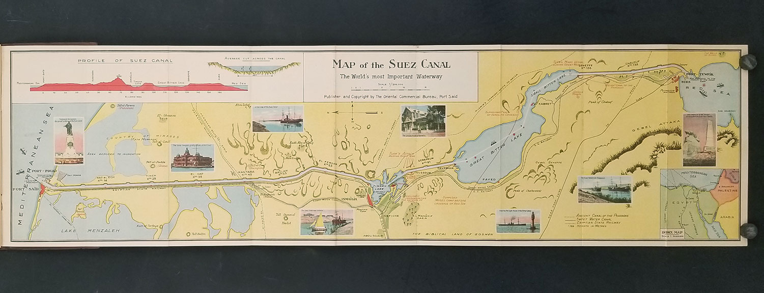 The Suez Canal Map And Notes Of The World S Most Important Waterway