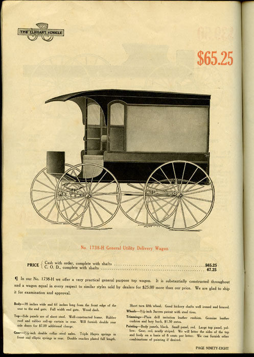 Elkhart Carriage & Harness Mfg  Co