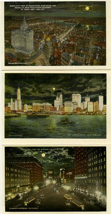 New York The Wonder City By Night. NEW YORK - NEW YORK CITY) Softcover