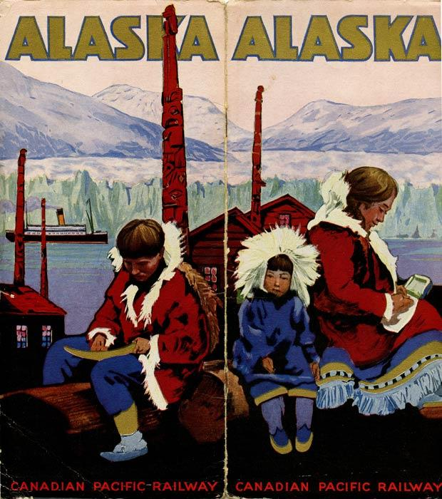 Alaska. Canadian Pacific Railway. CANADIAN PACIFIC TOUR GUIDE) Softcover