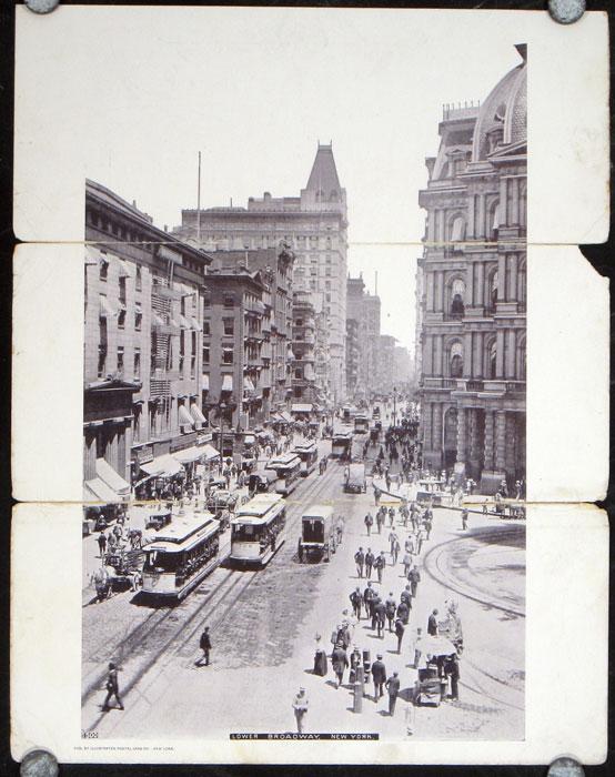 Lower Broadway, New York NEW YORK - NEW YORK CITY)