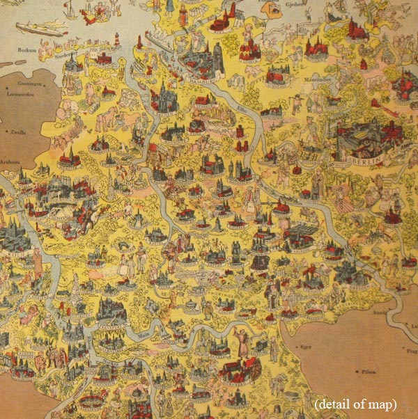 Picture map of germany before war published in the chicago daily picture map of germany before war published in the chicago daily tribune monday march gumiabroncs Choice Image