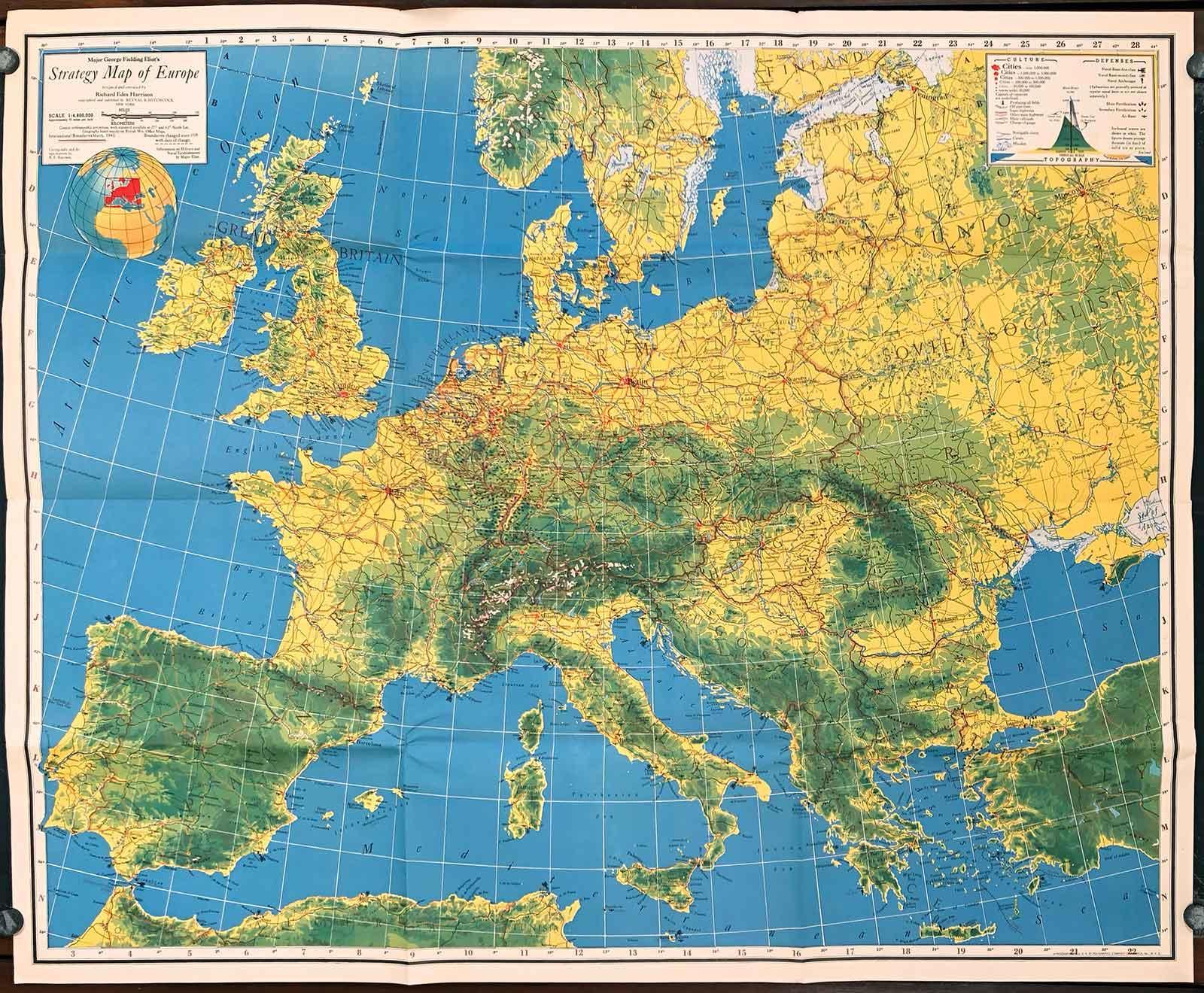 Major George Fielding Eliot\'s Strategy Map ...