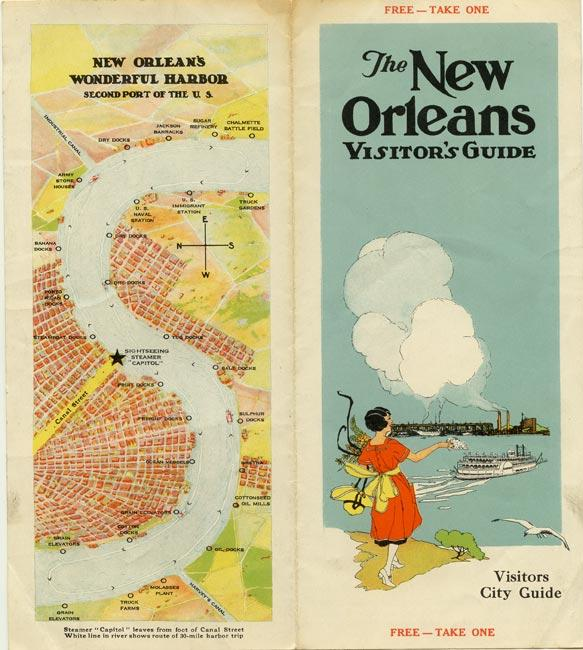 The New Orleans Visitor's Guide.: LOUISIANA - NEW ORLEANS)