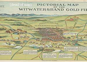 Pictorial Map of the Witwatersrand Gold Fields.: SOUTH AFRICA -
