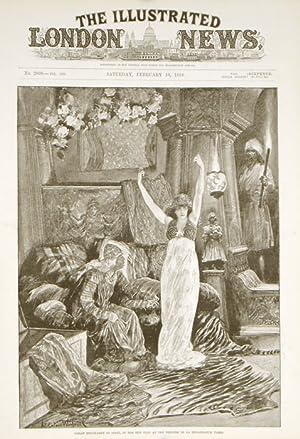 Sarah Bernhardt as Izeyl.: ACTORS: SARAH BERNHARDT)