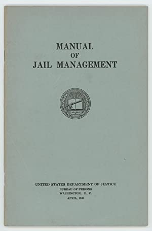 Manual of Jail Management.