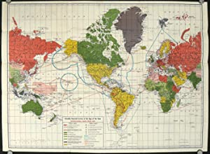 Consolidated Finance. International Radio News Map First Edition.
