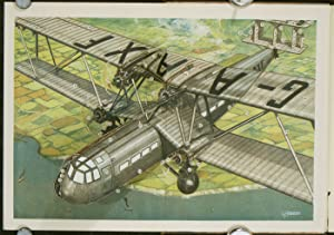 Handley-Page Type 42 Airplane.