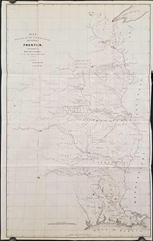 Map Illustrating the Plan for the Defences of the Western Frontier, as Proposed by Maj. Gen. Gain...