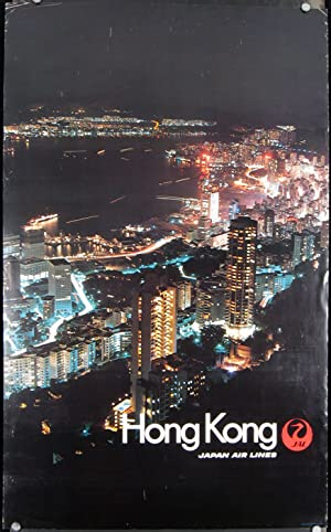 Hong Kong. Japan Air Lines.