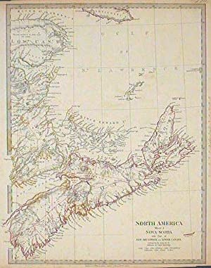 North America Sheet I Nova-Scotia with Part of New Brunswick and Lower Canada.