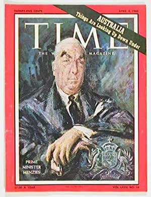 Time The Weekly Newsmagazine. 1960 - 04 -04.