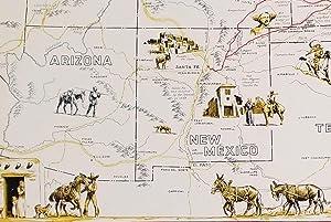 The Santa Fe Trail.: SOUTHWEST - SANTA FE TRAIL / ATCHISON, TOPEKA AND SANTA FE RAILWAY) Shope, ...