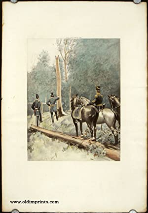 Troopers Mounted, 1889.