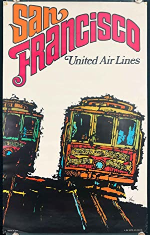 San Francisco. United Air Lines.