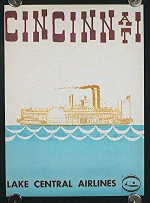 Cincinnati. Lake Central Airlines.