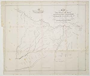 Map of the Head Waters of the Rivers Susquehanna & Delaware Embracing the Early Patents On The So...