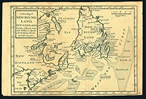 A New Map of Newfoundland, New Scotland. The Isles of Breton, Anticost, St. Johns &c. Together wi...