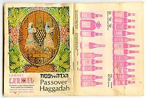 Israel Carmel. Passover Haggadah. The Story of: WINE - ISRAEL)