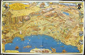 Southern California's Golden Coast and Sunshine Empire. (Map title: Historic Roads to Romance Cal...