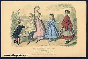 Magasin Des Demoiselles. Journal mensuel.: 1860s FASHION) Candouze,