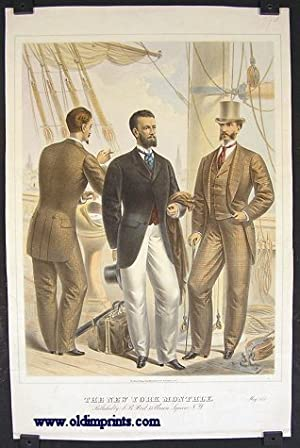 The New York Monthly. May 1875.: 1870s FASHION) Lithographed