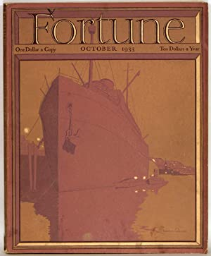 Fortune Magazine. 1933 - 10. (October)