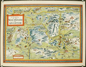 A Scott-Map of the White Mountains of: NEW HAMPSHIRE -