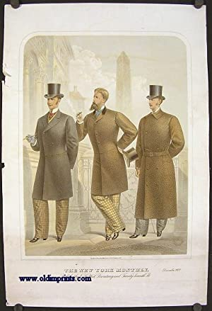 The New York Monthly. December 1877.: 1870s FASHION) Lithographed