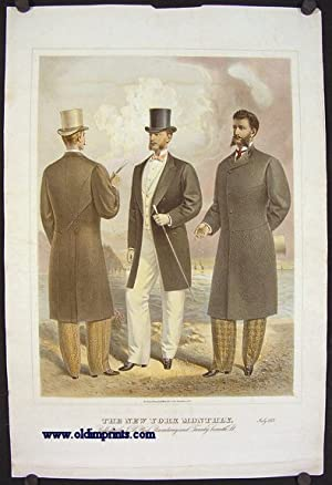 The New York Monthly. July 1877.: 1870s FASHION) Lithographed