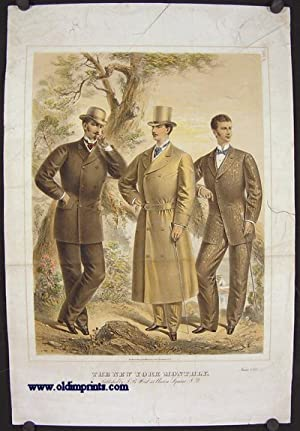 The New York Monthly. June 1875.: 1870s FASHION) Lithographed