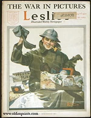 Leslie's Illustrated Weekly Newspaper. 1917 - 12: ROCKWELL, NORMAN) Rockwell,