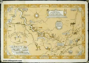 Ashton Virginia Map.West Virginia Reniers Ashton Woodman Map Abebooks