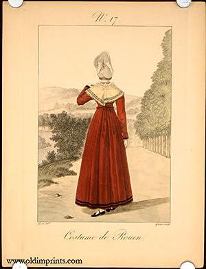 Costume de Rouen. No. 17.: FRANCE) Lante (drawn
