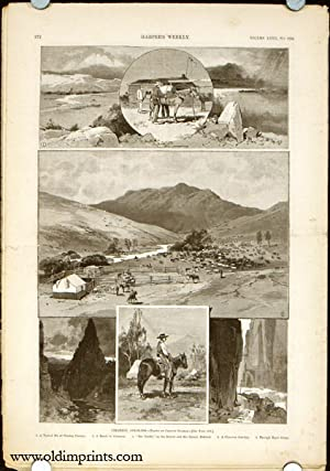 Cimarron, Colorado in complete issue of Harper's Weekly.